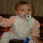 бебе седми месец
