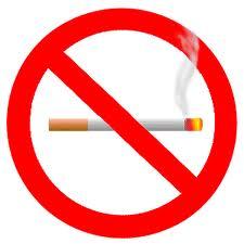 не на цигареният дим
