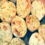 картофени половинки