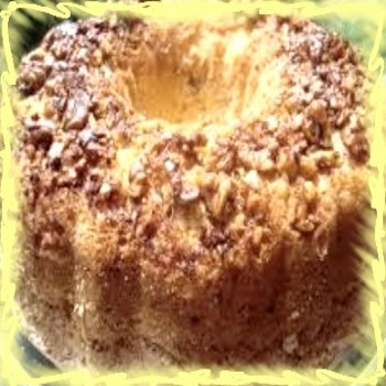 кекс с орехи и стафиди