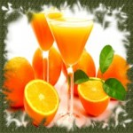 коктейл портокалов цвят