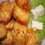 панирани хапки със сирене и кашкавал