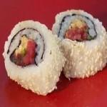 риба тон с ориз