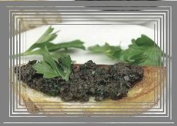 сандвич с пастет от маслини