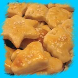 соленки с маргарин и кашкавал