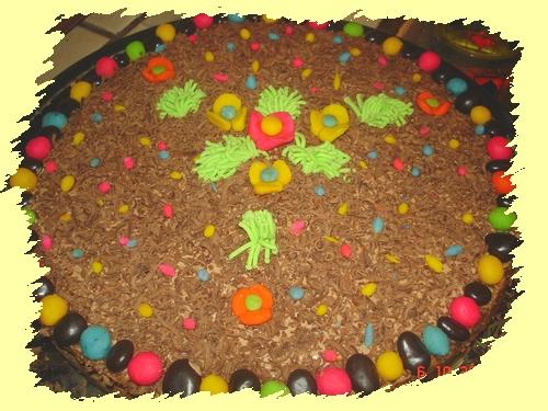 великденска шоколадова торта