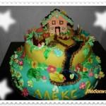домашна декорация на торта