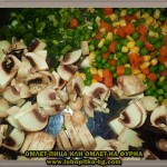 лесен и вкусен омлет на фурна